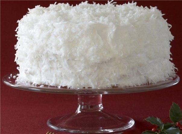 десерт от снежной королевы